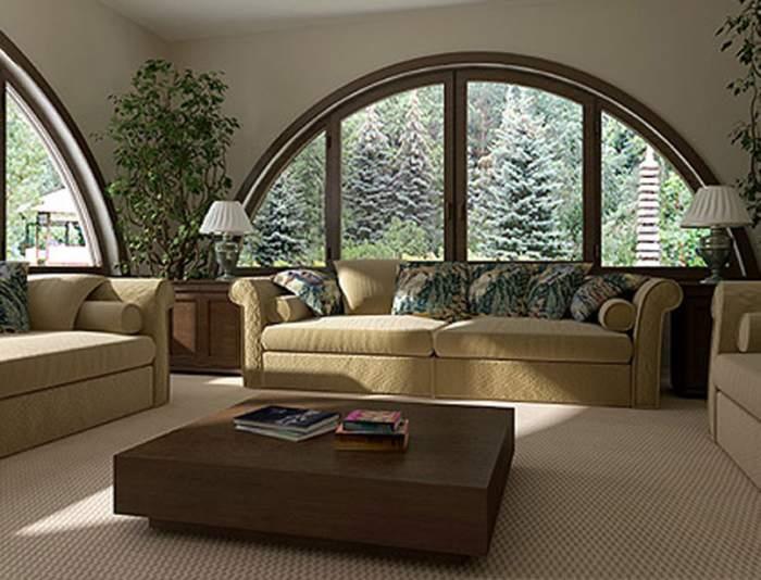 Окна в частный дом фото